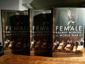 Female railway workers in WW2